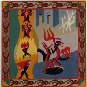 Danza di diavoli di Fortunato Depero, 1922, Rovereto, Museo Mart