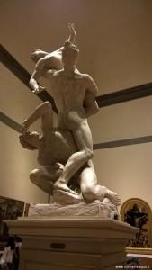 Ratto delle Sabine, Giambologna, Galleria dell'Accademia, Firenze