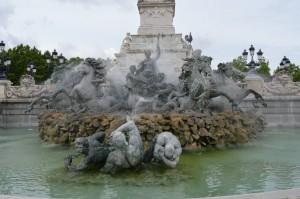 Bordeaux, Monumento ai Girondini in Place des Quinconces