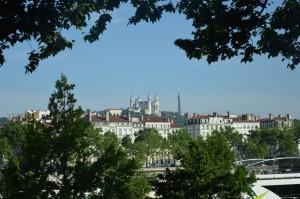 Lione, Basilica Notre Dame de Fourviere sull'omonima collina