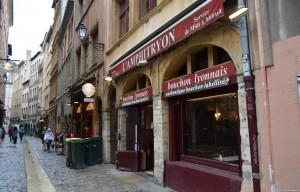 Lione, per le vie del centro storico