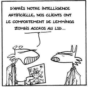 Le marketing assisté par intelligence artificielle