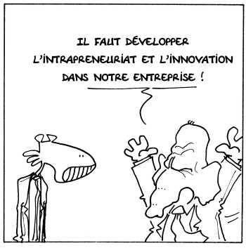 Développer l'intrapreuneuriat et l'innovation