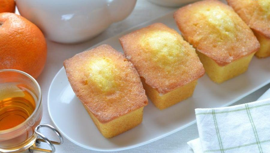Mini Plumcake all'arancia, soffici e golosi