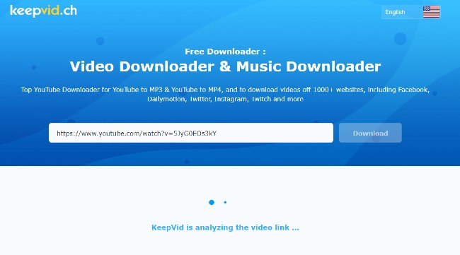 how to download from YouTube using keepvid