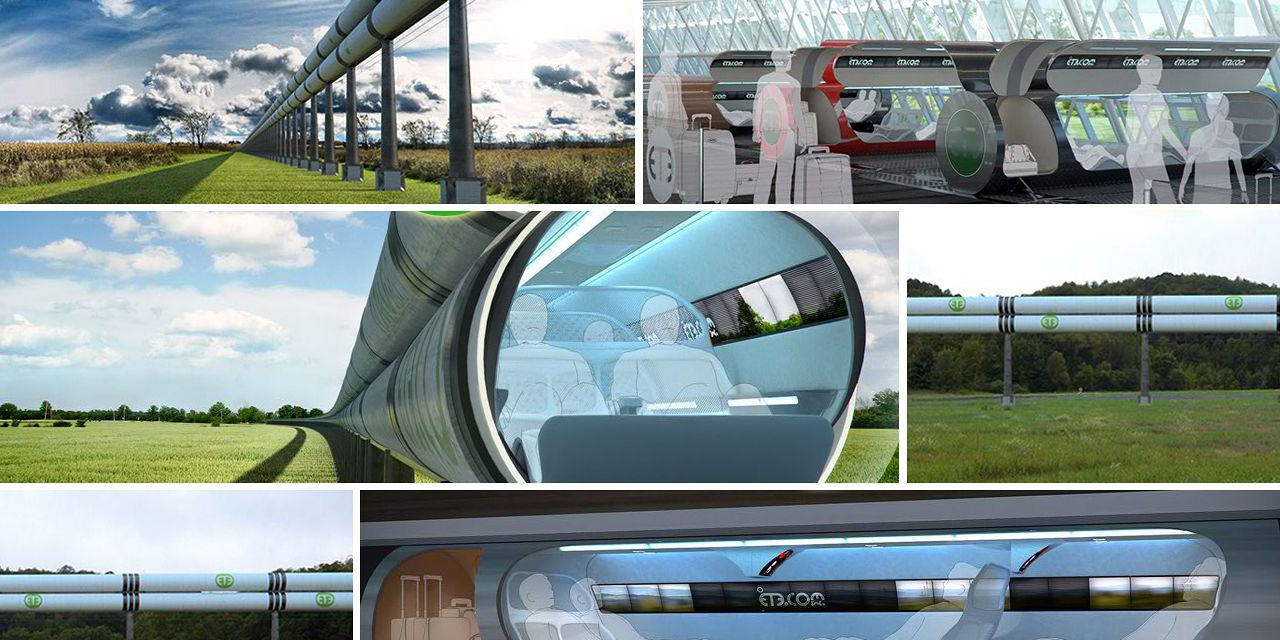 With 1216km/hour this train can beat flights