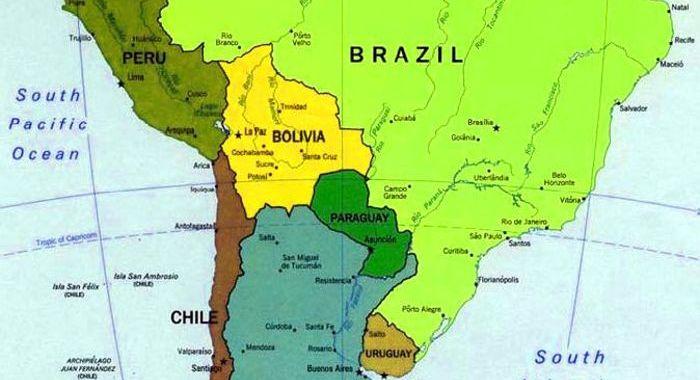 Sudamerica 2008