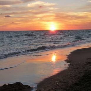 ancora tramonto