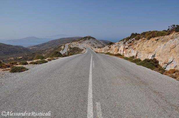 la strada per Kalantos