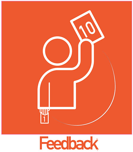 "Logo del servizio ""Feedback"""