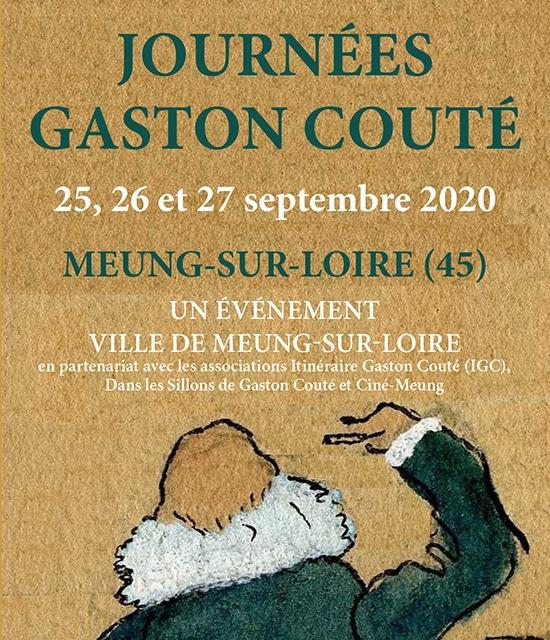 Dépliant Gaston COUTÉ