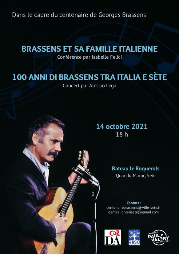 Brassens et sa famille italienne