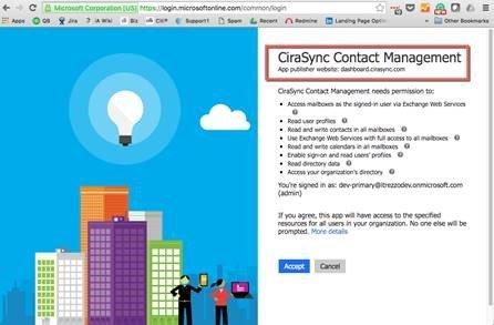 Update office 365 global address list