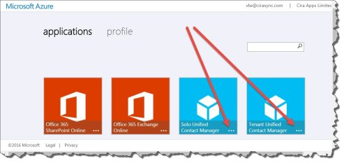 Consent given to CiraSync in MS Azure