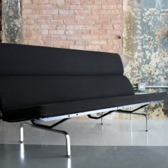 Eames Sofa Compact Grey Large L Shaped By For Herman Miller Circa Modern Picture