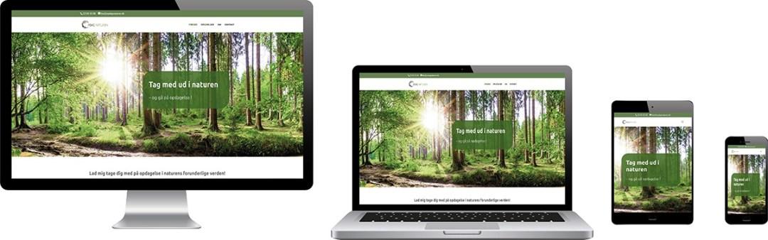 Design af website