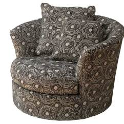 Circle Furniture Chairs Recliner Chair Covers Argos Maise Swivel Living Room Bedroom Masie