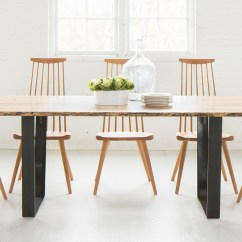 Circle Furniture Chairs Orange Office Uk Live Edge Vergennes Dining Table