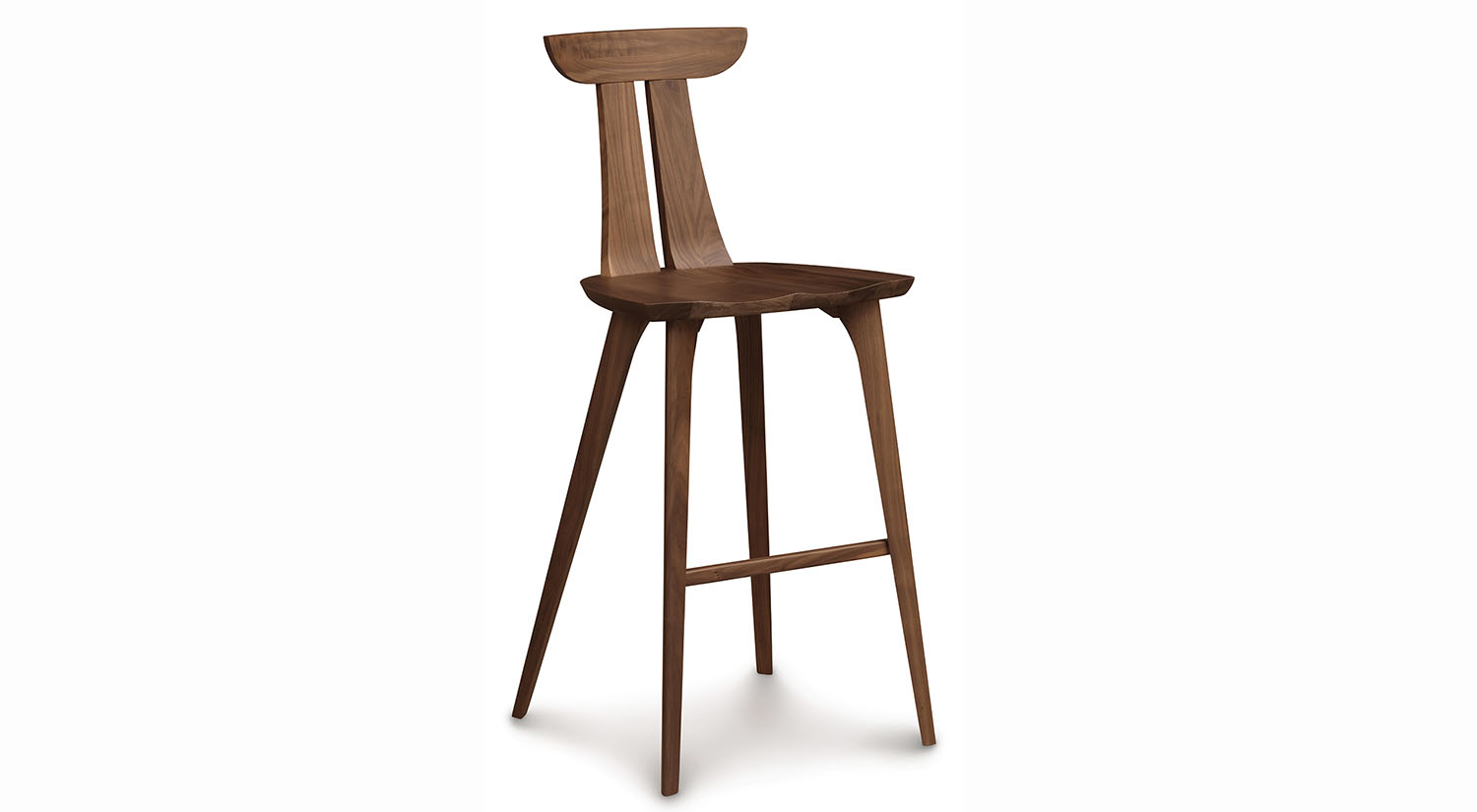 Circle Furniture  Estelle Bar Stool  Cherry Counter and