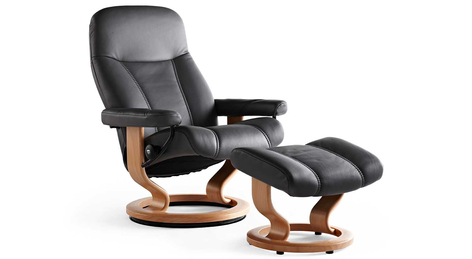 ekornes chair accessories cool hanging chairs circle furniture consul stressless recliners ma