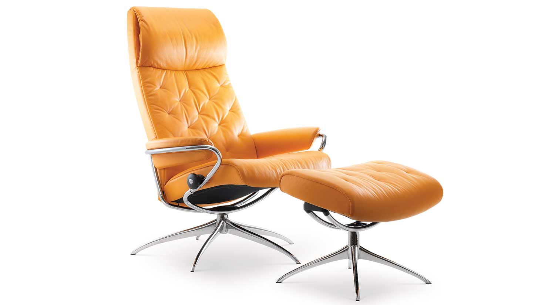 stressless chair similar black covers ebay circle furniture metro and ottoman