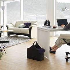 Desk Chair Lowers Itself Scoliosis Traction Circle Furniture Stressless Reno Office