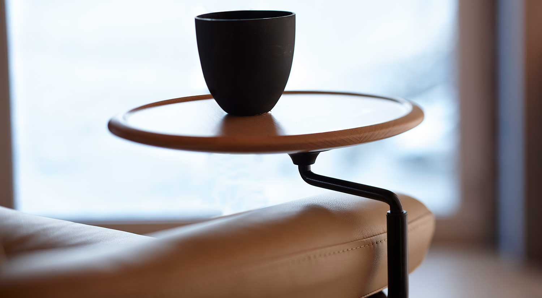 Circle Furniture  Stressless Swing Table  Ekornes