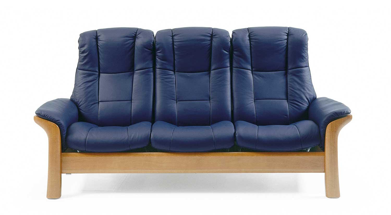 Circle Furniture  Windsor Stressless Highback Sofa