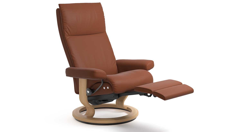 ekornes chair accessories stand test wikipedia circle furniture aura leg comfort stressless