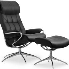Sleep Chair Recliner Dining Chairs Walnut Legs Uk Circle Furniture - London Highback And Ottoman | Stressless Recliners Leather ...