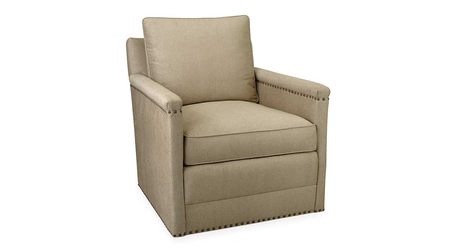 circle furniture chairs elastic folding chair covers paige swivel boston living