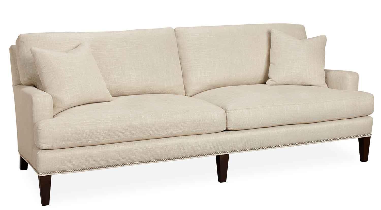 track arm sofa sears leather beds circle furniture - mia   classic couches ma ...