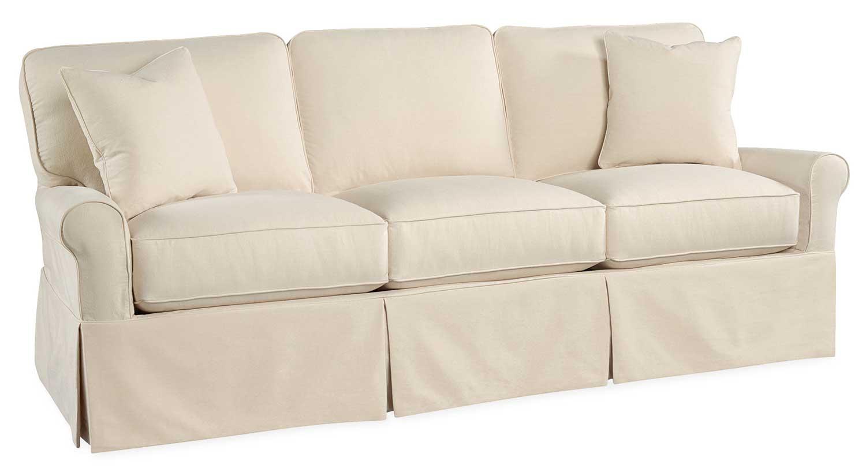 Circle Furniture  Gigi SlipCover Sofa  Casual
