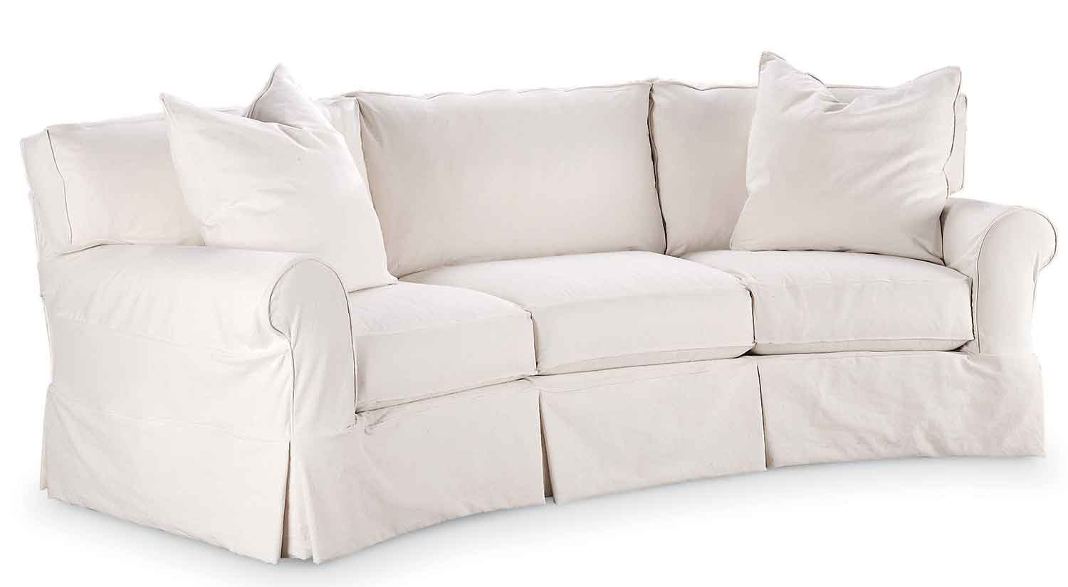 slipcover for chair and a half ball game circle furniture - taylor wedge sofa | couches ma