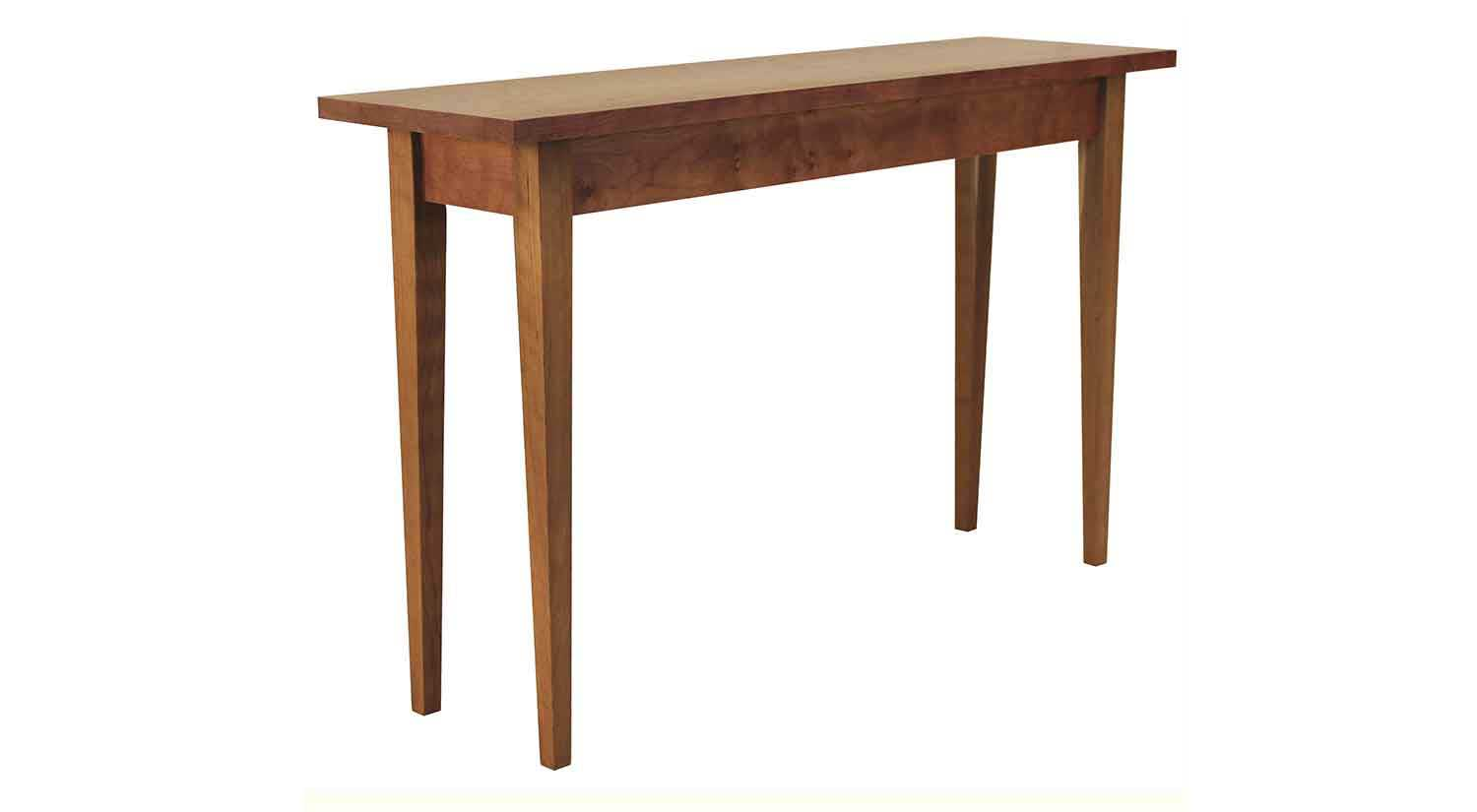 wooden sofa table legs 2 seat size circle furniture taper leg console tables ma living