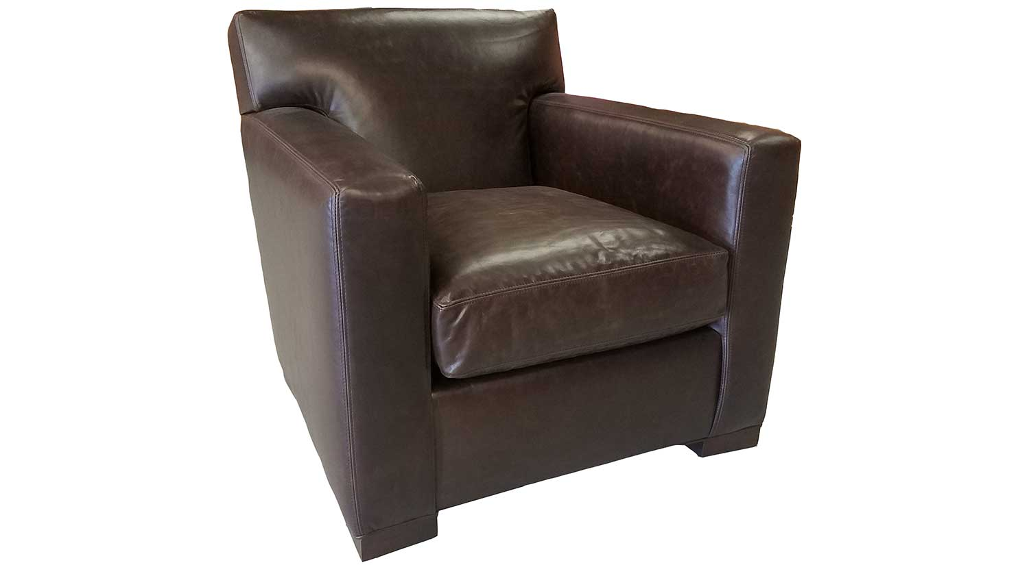 the chair outlet gaming pc circle furniture dylan in leather