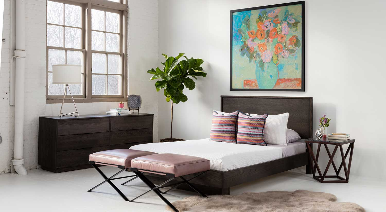 bedroom chairs and ottomans rattan armchair circle furniture dasha ottoman upholstered benches