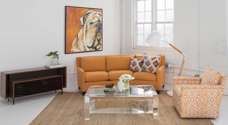 Circle Furniture  Maddie Wedge Sectional