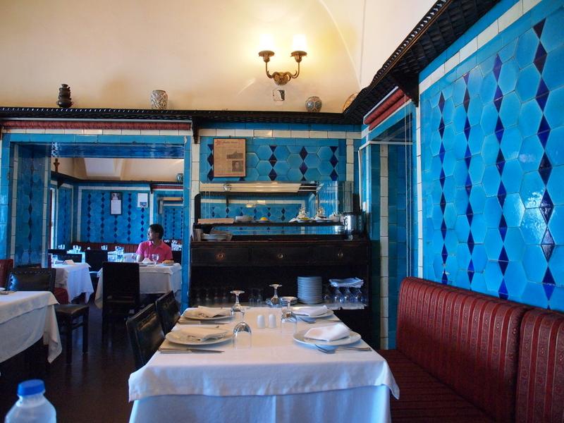 An Istanbul Classic Pandeli Restaurant