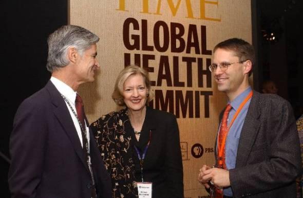 Time Global Health Summit Evan Agostini Time