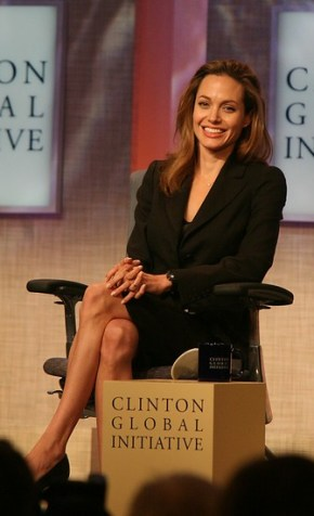 Angelina Jolie at CGI