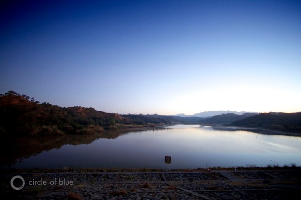 India reservoir irrigation Circle of Blue Carl Ganter