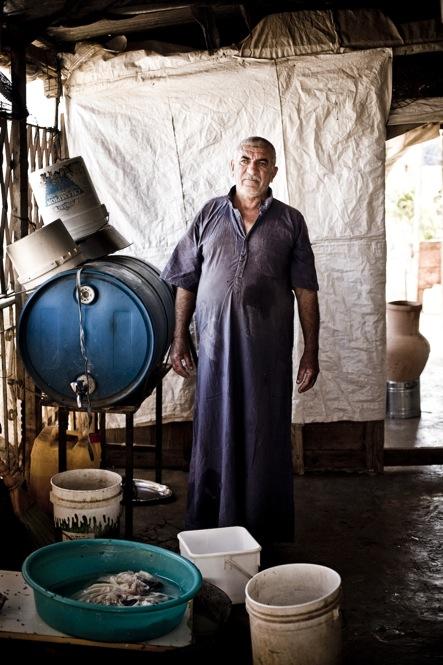 A farmer near Jenin.