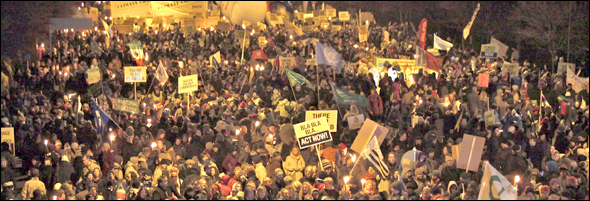 Copenhagen Demonstrations December 12/12 International Climate Protest