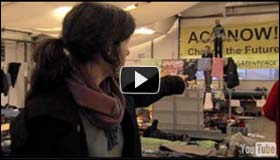 Video: Behind the Scenes with Greenpeace in Copenhagen