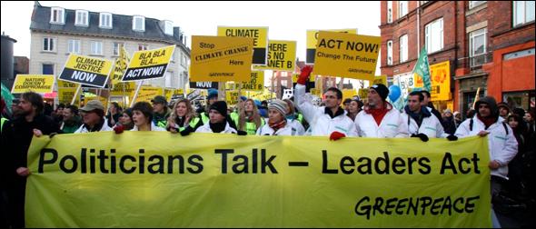 Copenhagen Climate Protest