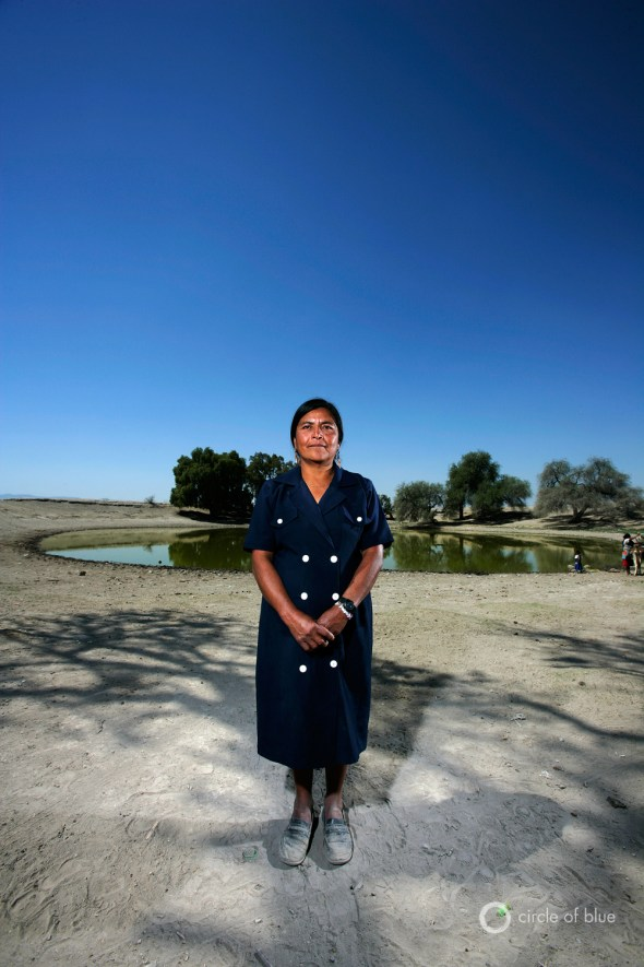 tehuacan mexico drought divining destiny san marcos francisca rosas valencia climate change world water day 2013 carl ganter circle of blue brent stirton