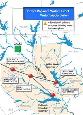 Tarrant Regional Water District Pipeline