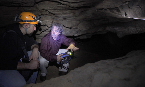 Exploring Underground Water Systems in Mammoth Cave