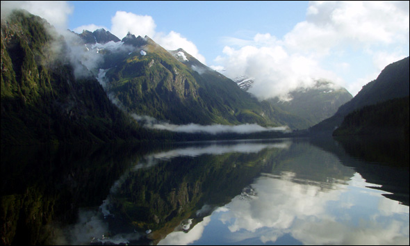 Blue Lake in Sitka, Alaska